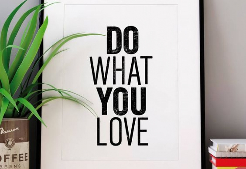 Η λάμψη του να κάνεις αυτό που αγαπάς.