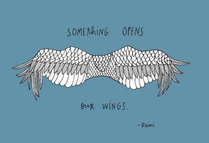 Nα ανοίξουμε τα φτερά μας. Εύκολο η δύσκολο?