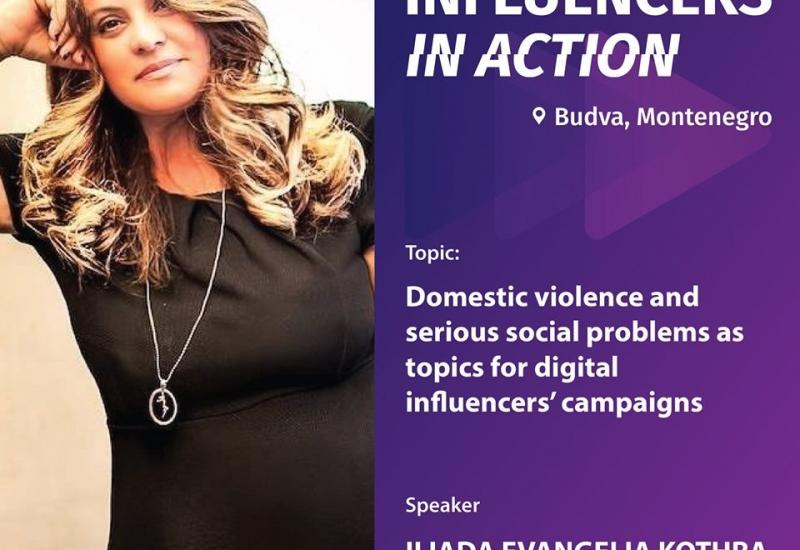 Η ομιλία μου στο Digital Influencers in Action Forum in Budva, Montenegro