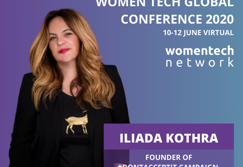 Η ομιλία μου στο WomenTech Global Conference 2020.