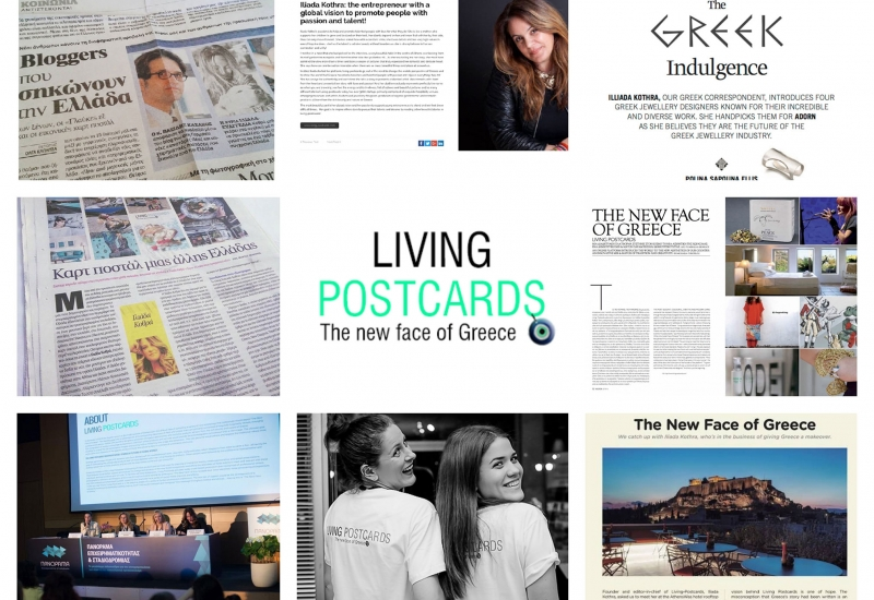 Living Postcards featured at Huffington Post - US Edition.