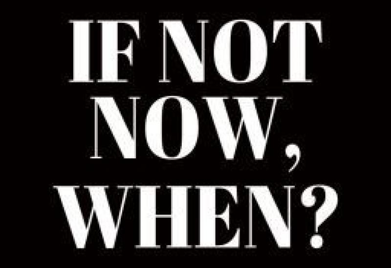 Do it. Now.