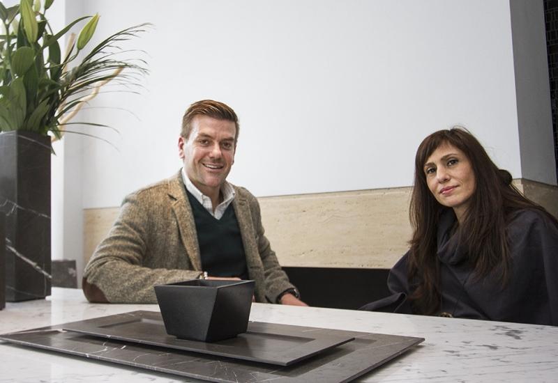 Η Φωτεινή Κωστούλη συνομιλεί με τον Σπύρο Σούλη για το ''Iktinos Marmaron'' project.