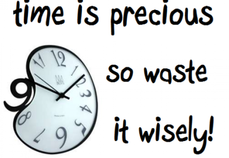O χρόνος που περνάει.